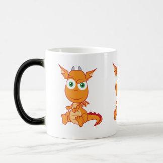 Mischievous Dragon Smirking Coffee Mugs