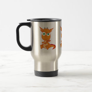 Mischievous Dragon Smirking Mug
