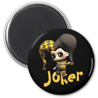 Mischievous Little Jester Magnet