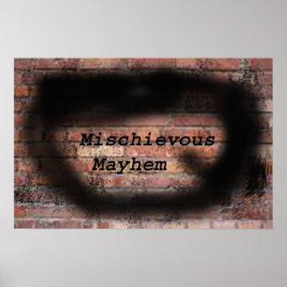 Mischievous Mayhem Poster 1