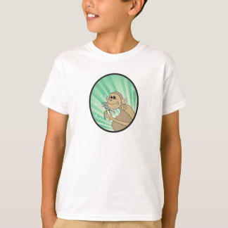 Mischievous Monkey with a Wrench T-Shirt