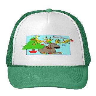 Mischievous Reindeer Trucker Hat