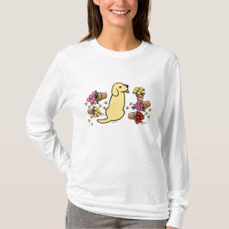 Mischievous Yellow Labrador T-Shirt