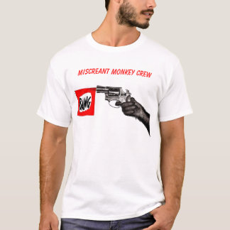 Miscreant Monkey Crew T-Shirt