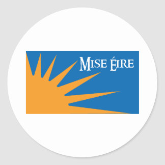 Mise Eire Stickers without Tagline