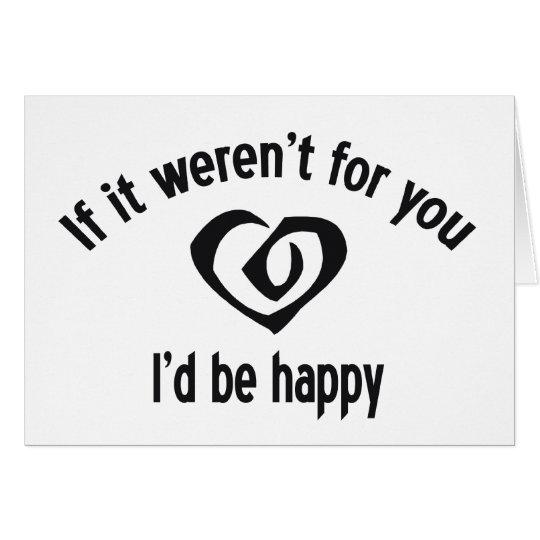 Miserable Heart Card