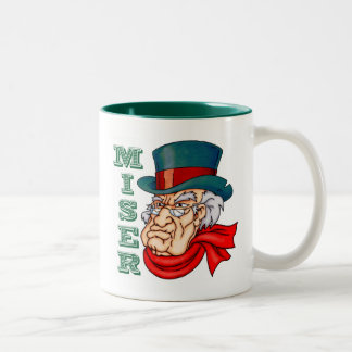 Miserable Miser Two-Tone Coffee Mug