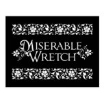 Miserable Wretch Postcard