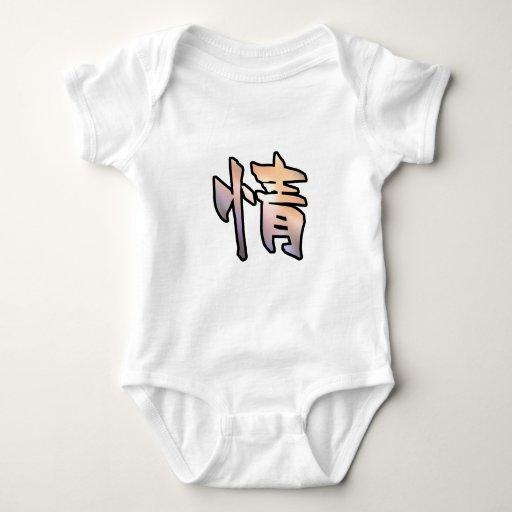misericordia del arte del kanji body para bebé