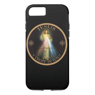 MISERICORDIA DIVINA, CONFIANZA DE JESÚS I EN USTED FUNDA iPhone 7