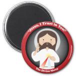 Misericordia divina de Jesús Imanes Para Frigoríficos