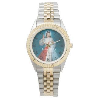 ¡Misericordia divina Jesús, confío en en usted! Reloj