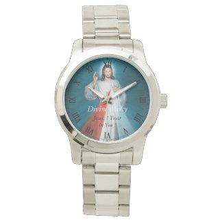 ¡Misericordia divina Jesús, confío en en usted! Reloj De Mano