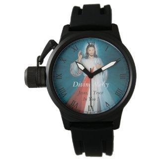 ¡Misericordia divina Jesús, confío en en usted! Relojes