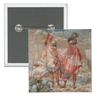 Misericordia: Vida de David Spareth Saul, 1854 Pin Cuadrado