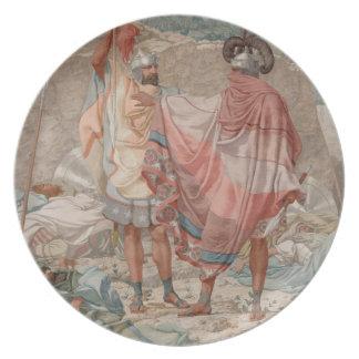 Misericordia: Vida de David Spareth Saul, 1854 Platos De Comidas