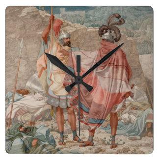 Misericordia: Vida de David Spareth Saul, 1854 Reloj Cuadrado