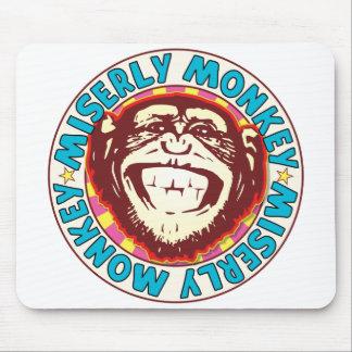 Miserly Monkey Mouse Pad