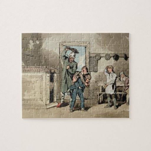 Misery, 1807 (etching) jigsaw puzzles