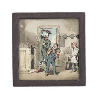Misery, 1807 (etching) keepsake box