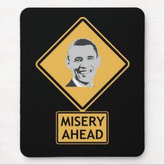 misery ahead mouse pad