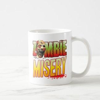Misery Zombie Head Classic White Coffee Mug