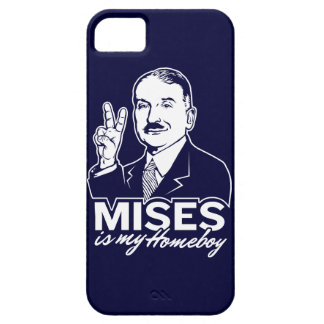 Mises is My Homeboy iPhone 5/5S Case
