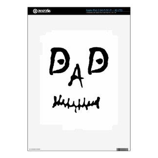 MISFIT DAD iPad 3 SKIN