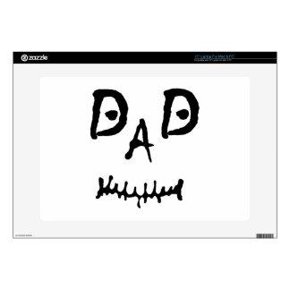 MISFIT DAD LAPTOP SKIN