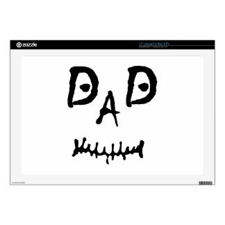 MISFIT DAD LAPTOP SKINS