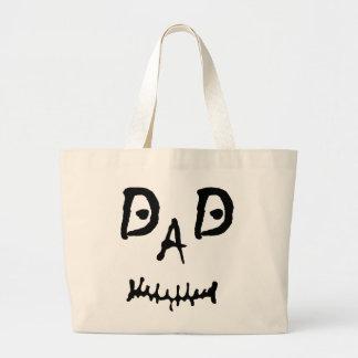 MISFIT DAD LARGE TOTE BAG