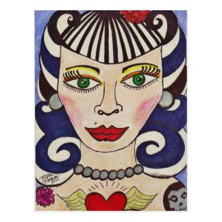"""Misfit Doll"" Postcard"