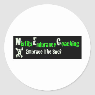 Misfit Schwaggle Classic Round Sticker