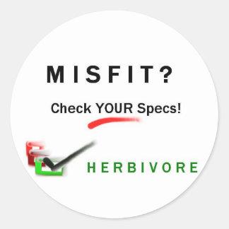 Misfit? Sticker