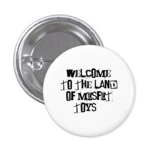 Misfit Toys Pinback Button