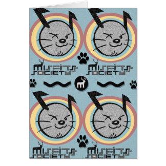 misfits society dog hero card