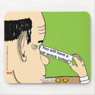 """""""Misfortune Cookie"""" Mouse Pad"""