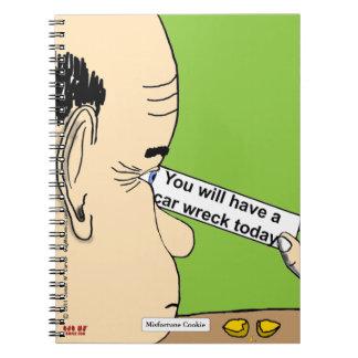 """""""Misfortune Cookie"""" Notebook"""