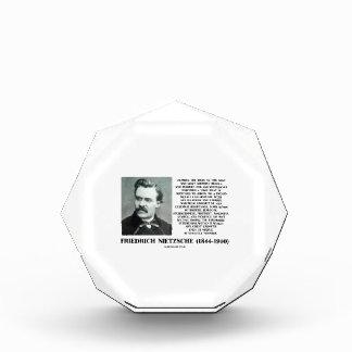 Misfortune Favorable Conditions Growth Nietzsche Acrylic Award