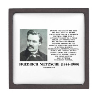 Misfortune Favorable Conditions Growth Nietzsche Gift Box