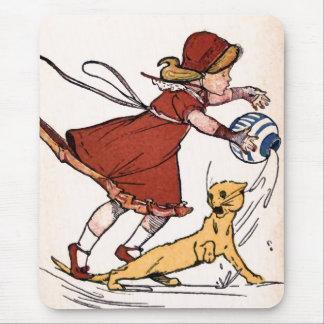 """Misfortunes never come Singly"" Vintage Mouse Pad"