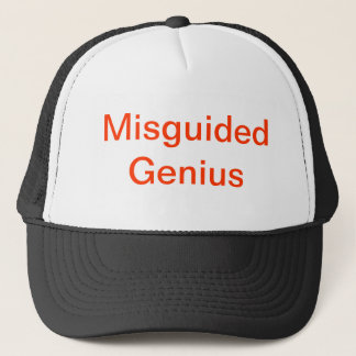Misguided Genius Trucker Hat