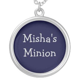 Misha's Minion necklace