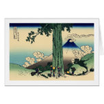 Mishima Pass in Kai Province Greeting Card