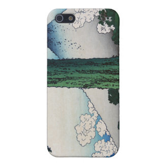 Mishima Pass in Kai Province, Hokusai Covers For iPhone 5