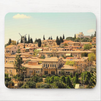 Mishkenot Shaananim in Jerusalem Mousepads