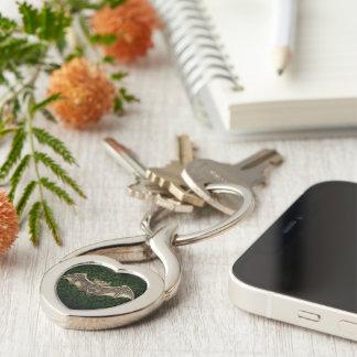 Mishkya the Bat Keychain - Heart