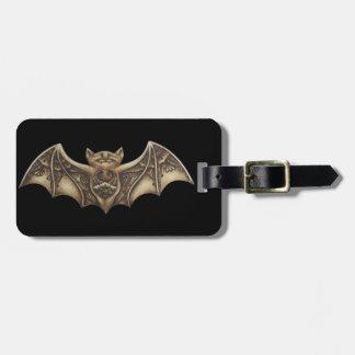 Mishkya the Bat Luggage Tag