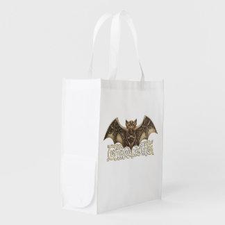 Mishkya the Bat Reuseable Bag Market Totes