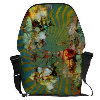 Mishmash of Quirk Butterfly Burst Messenger Bag